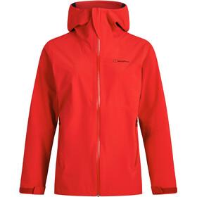 Berghaus Mehan Vented Shell Jacket Women, rojo